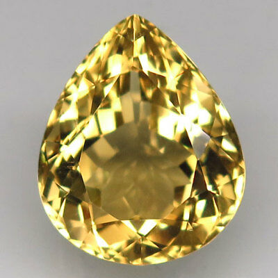 13ct.Magnificent Gem! 100%Natural Yellow Citrine Unheated 17x14mm.AAA Nr!