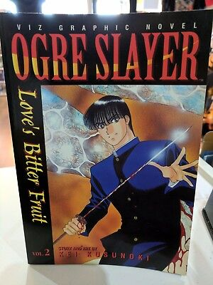 Ogre Slayer Vol. 2 By Kei Kusunoki/Manga/1998 Viz Comics