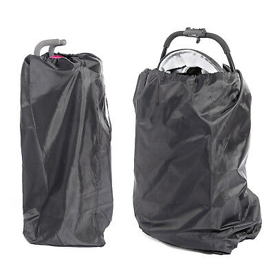 Gate Check Baby Pram Child Umbrella Buggy Pushchair Stroller Cover Travel Bag