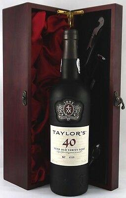 1977 Taylor Fladgate 40 year old Tawny Port (75cls)