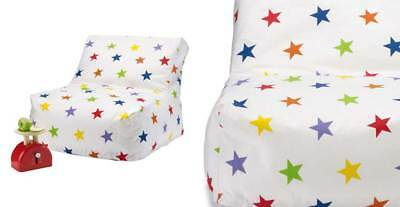 Great Little Trading Company GLTC Washable Bean Bag Chair - Rainbow Star