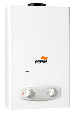 Cointra Optima COB-10 instant propane/butane gas water heater (battery ignition)