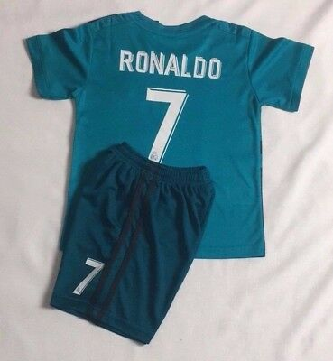 pretty nice 4e40b a9a6d NEW KIDS SOCCER jersey boy sportswear Real Madrid away kit ...