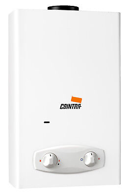 Cointra Optima COB-14 instant propane/butane gas water heater (battery ignition)