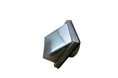 Air Vent Grill Stainless Steel 150 mm Connection