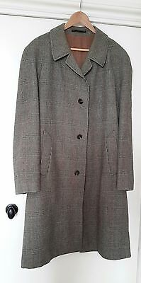 Dunn & Co Vintage Pure New Wool Coat