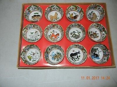 1 Set  12 chinese tea cups (free shipping)