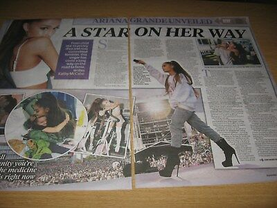 ARIANA GRANDE - Magazine and Newspaper Clippings