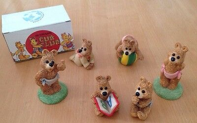 Cub Club Teddy Bear Ornament Figurine Collection 1991