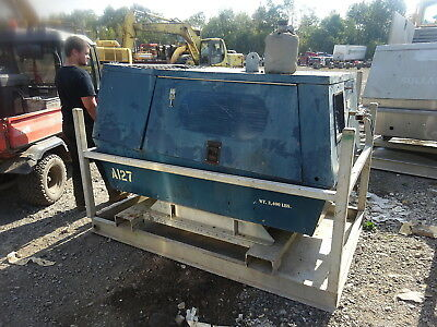 Sullair 185H Diesel Air Compressor 150 PSI !! RUNS EXC VIDEO! John Deere 185 CFM