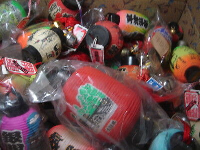 LOT of 30 JAPAN Chochin Lantern imitation Souvenir