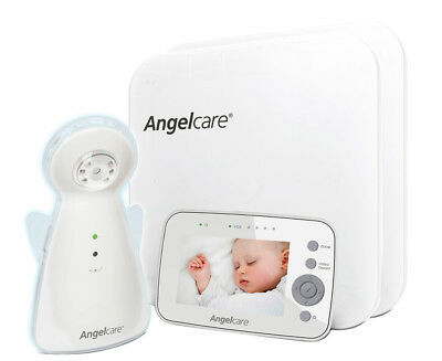 Angelcare AC1300 Baby Movement Monitor w/ 3.5-Inch Display & Wired Sensor Pad -