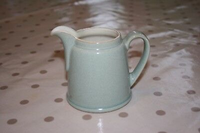 Denby Energy celadon green and cream small jug