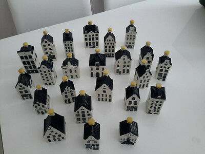 KLM Collectable Delft Houses including No 47 and No 48