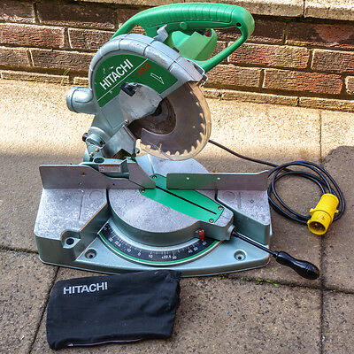 "Hitachi C10FCB 255mm Compound Mitre Saw 110 ~ 115V 10"" Inch Bevel Crosscut"