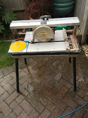 Wet Tile Cutter with new 180mm diamond blades