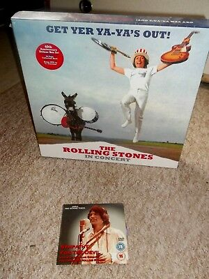 ROLLING STONES - GET YER YA-YA'S OUT ; Super Deluxe 3-LP, DVD , 3-CD + Book Box