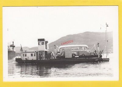 PORTREE 1952 Caledonian Steam Packet Co car / passenger ferry  -    Photograph