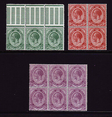 South Africa Blocks. Mounted Mint.