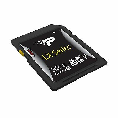 Patriot PSF32GSDHC10 32GB Signature Class 10 SDHC Memory Card