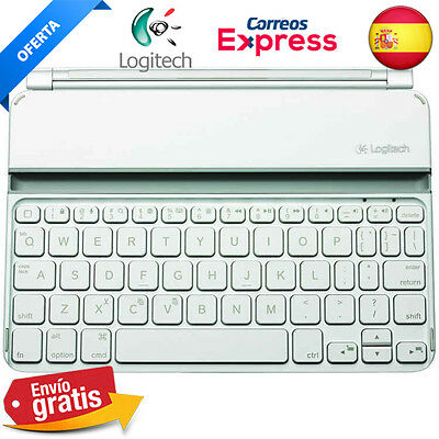 Logitech Ultrathin Keyboard Mini para IPAD MINI 1 / 2 / 3 Blanco