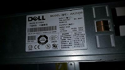 DELL AA23300  0JD090 PowerEdge 1850 550W SERVER Power Supply 0X0551 X0551