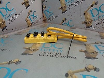 Brad Harrison Bty801P-Fbe-10 Rev 3 Interconnect 8 Outlet Pin Connector