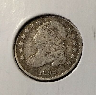 1832 Capped Bust dime - Good date