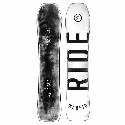 Ride Snowboard - War Pig - All-Mountain, Fun Slasher, Directional Rocker - 2018