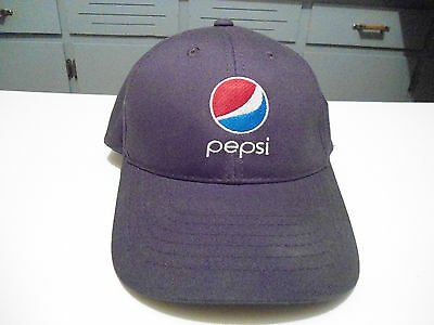 Pepsi Hat Cap Blue Adjustable Medium N Mint Advertising Soda Soft Drink Cola