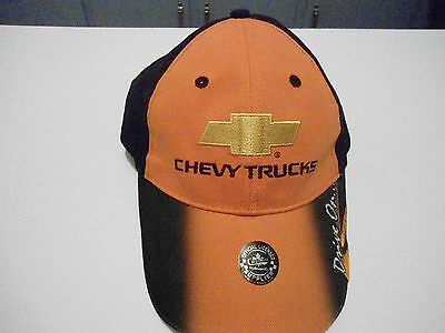Chevy Trucks Snapback Cap Hat New Without Tags One Size Adjustable Choko