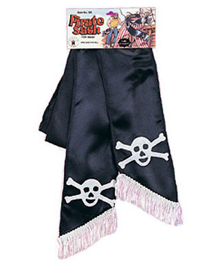 Black Pirate Sash Belt Costume Accessory 76 Inches