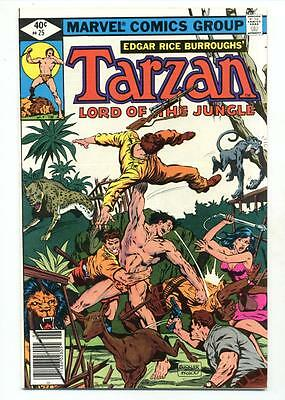 Tarzan #25    Buckler and McLeod Cover