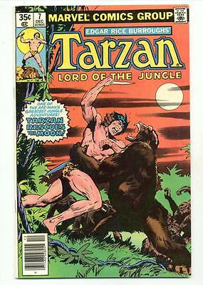 Tarzan #7     Tarzan Rescues the Moon