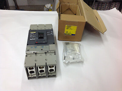 Square D DGP36600E20 PowerPact Circuit Breaker 600V 600A 3P.  NEW IN BOX