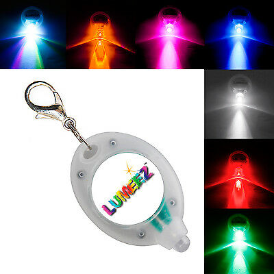 Clip On Lumeez® LED Safety Night Glow Light for Pet Dog Collar Various Colours