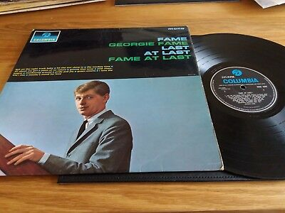 Georgie Fame - Fame At Last - Columbia - 33Sx 1638 - 1964 - 1N / 1N