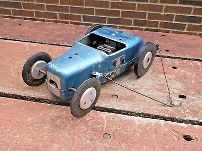 Rare Original Dooling Roadster Tether Car Gas Powered Race Car Kansas Estate