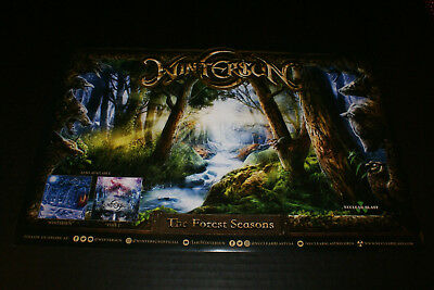 """Wintersun The Forest Seasons Poster Original Promo 11""""x17"""" New Fast Shipping!!"""