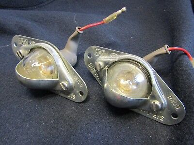 Ford Transit Mk1 Rear Number Plate Lights  Genuine New Old Stock