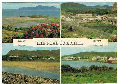 Unused Cardall Ltd P/C The Road to Achill Co. Mayo