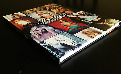 Britney Spears photobook large size - a lot of photos, cool design, vegas, glory