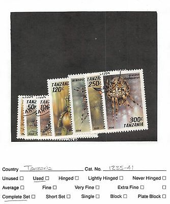 Lot of 48 Tanzania Used Stamps #107509 X