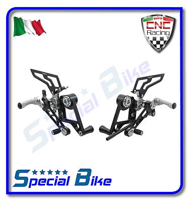 Ducati Monster S2R 1000 2006 > 2008 Set Pedane Regolabili Cnc Racing Rear Sets