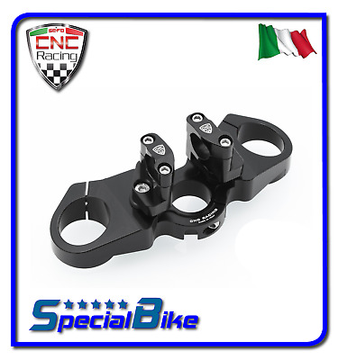 Ducati Monster 1100 2009 > 2010 Piastra Di Sterzo Superiore Cnc Racing Ergal