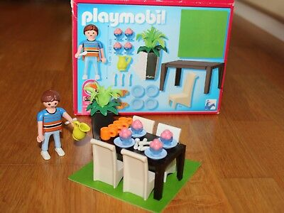 Playmobil puppenhaus 5302 mein grosses puppenhaus 1 for Playmobil esszimmer 5335