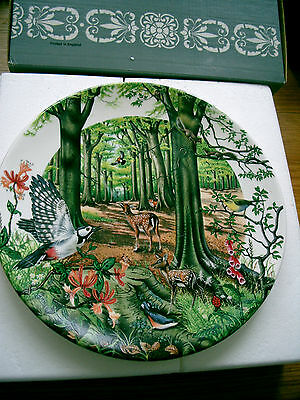 Bradford Exchange China Plate The Beechwood Colin Newman Boxed