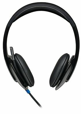 Logitech H540 High-performance Tuned USB Headset for PC Calls & Music 981-000510