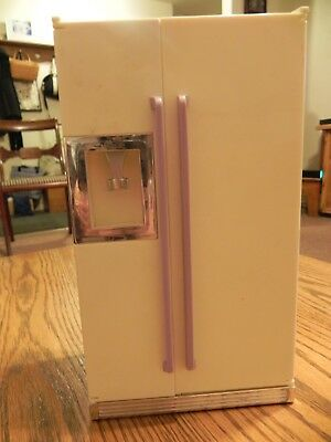 KITCHEN LITTLES by Tyco REFRIGERATOR with three drawers
