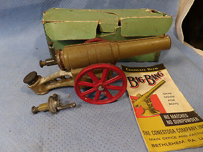 Original Big Bang Cannon 6F Light Field Gun With Two Breeches And Instructions